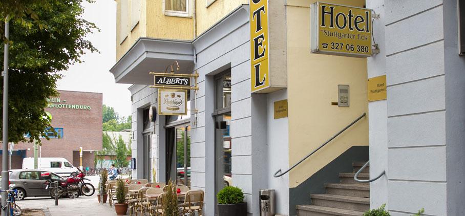 Hotel Pension Stuttgarter Eck Berlin